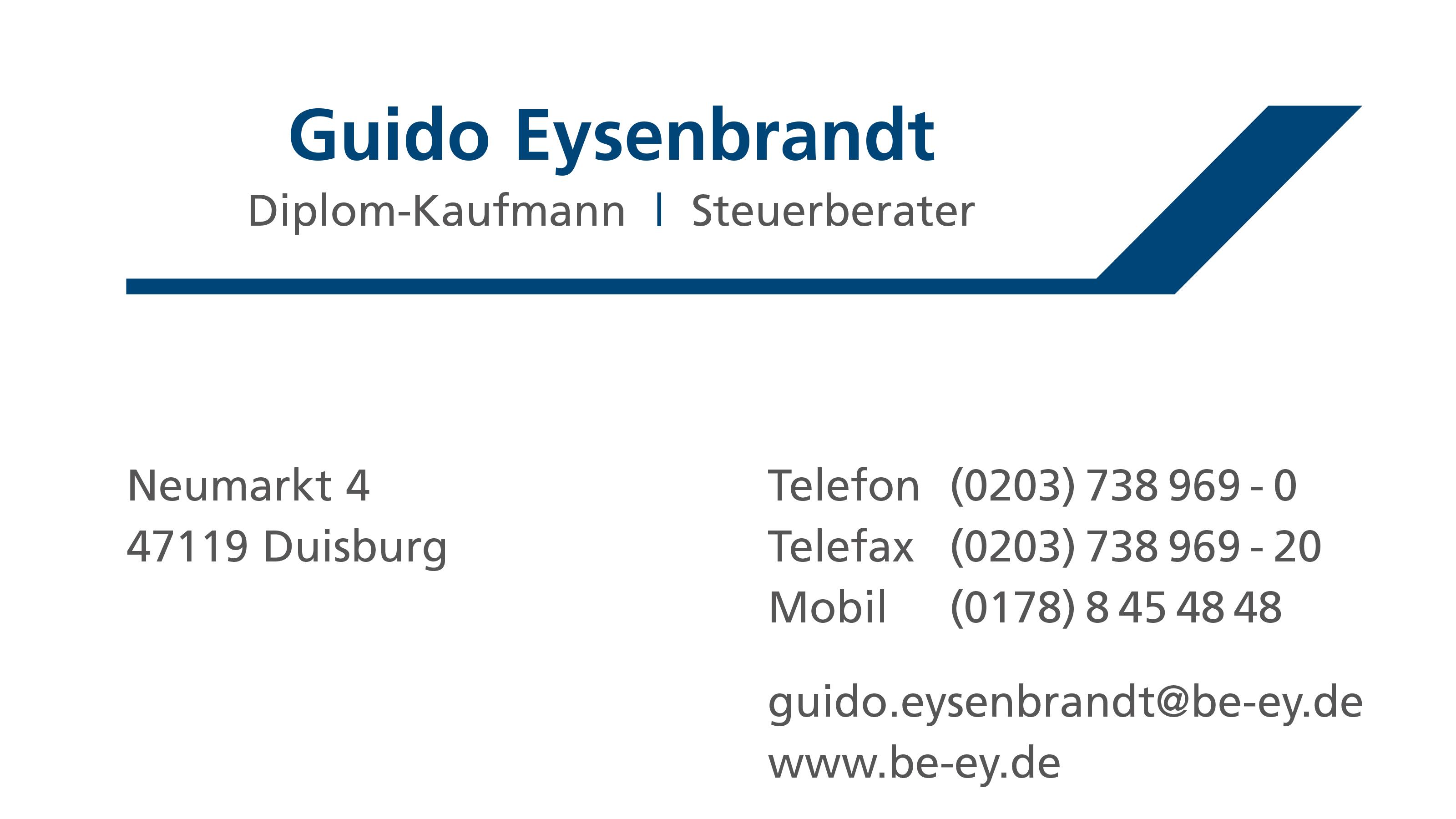 Steuerberater Guido Eysenbrandt