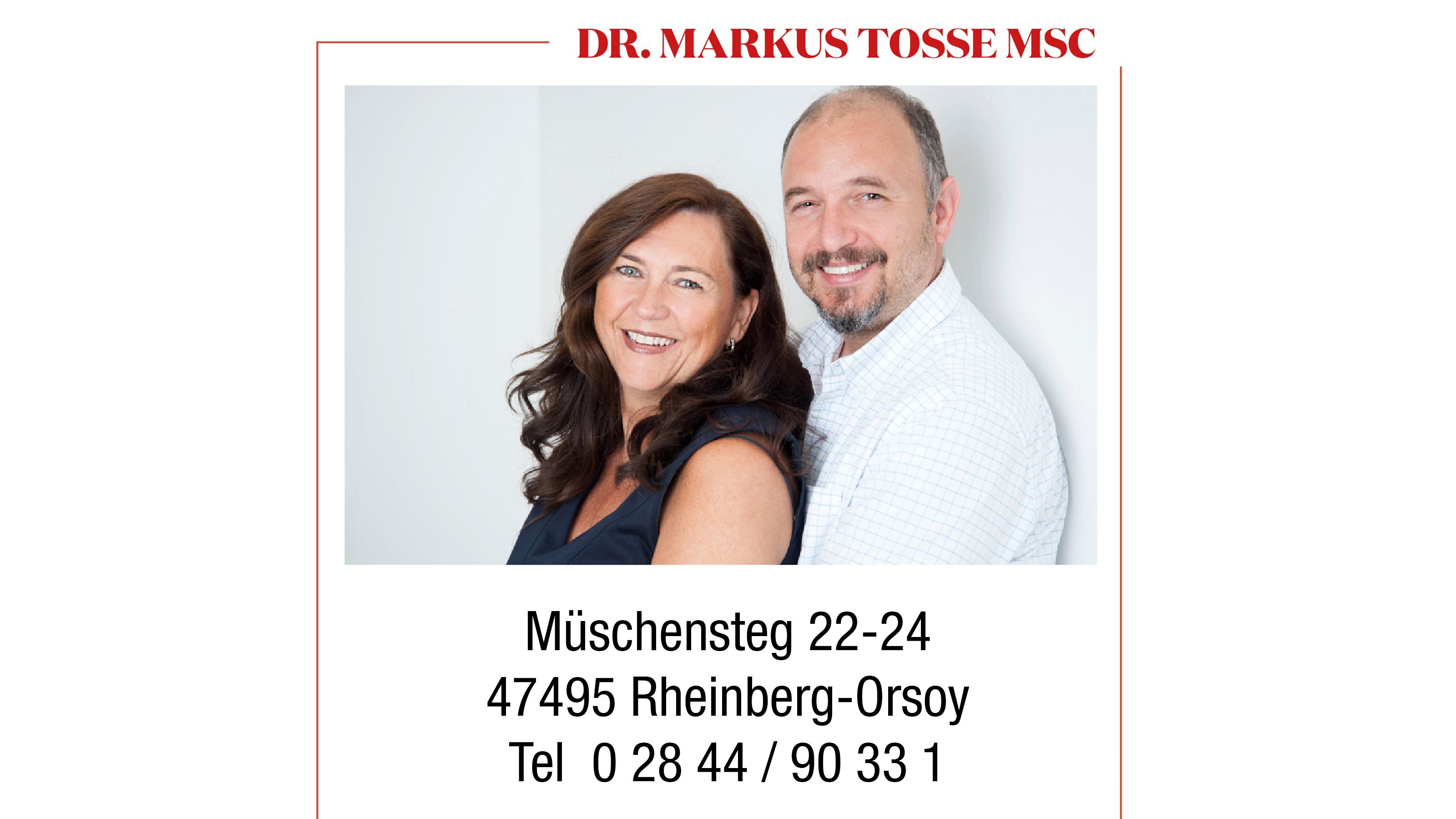 Zahnarzt Dr. Markus Tosse MSc